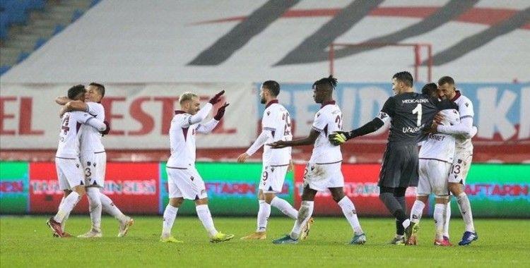 Trabzonspor 3 puanın sahibi oldu