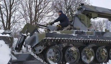 Ukrayna'da devam eden kar yağışı 64 yerleşim birimini elektriksiz bıraktı