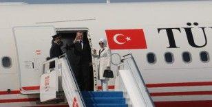 Cumhurbaşkanı Erdoğan Elazığ'a gitmek üzere Rize'den ayrıldı