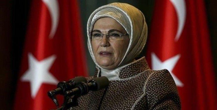 Emine Erdoğan, Pençe Kartal-2 Harekat bölgesindeki şehit Türk vatandaşları için başsağlığı diledi