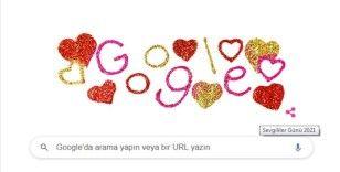 Google'dan Sevgililer Günü'ne özel doodle