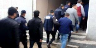 Muş merkezli 7 ilde terör operasyonu: 23 gözaltı