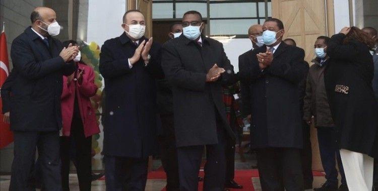 Etiyopya'nın Ankara'daki yeni Büyükelçilik binasının açılışı yapıldı