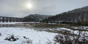 Kar yağışı sonrası Alibey Barajı doluluk oranı yüzde 50'yi geçti