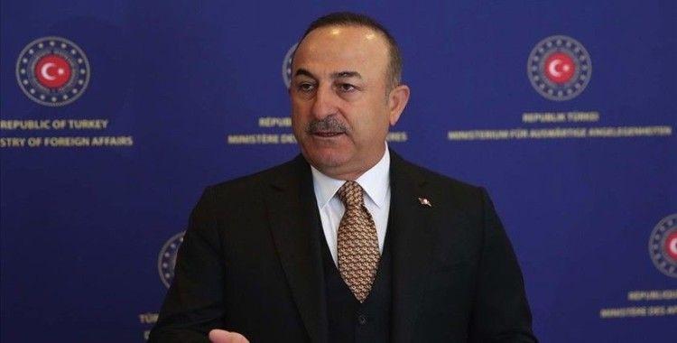 Bakan Çavuşoğlu: Benim teröristim kötü, senin teröristin iyi' anlayışı devam ediyor