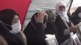 Evlat nöbetindeki aileler Gara'da katledilen 13 şehit için ağıt yakıp, dua etti