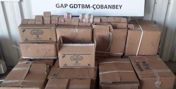 Sınırda 4 milyon 500 bin adet sigara kağıdı yakalandı