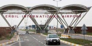 Erbil'de ABD askeri üssünün de bulunduğu havaalanına füzeli saldırı