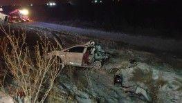 Konya'da otobüs, otomobil ve tır karıştığı zincirleme kaza