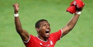 Alaba sezon sonunda Bayern Münih'ten ayrılacak