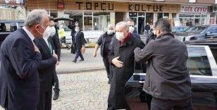 Erdoğan'ın ziyaret ettiği ilçe başkanının Covid testi pozitif çıktı