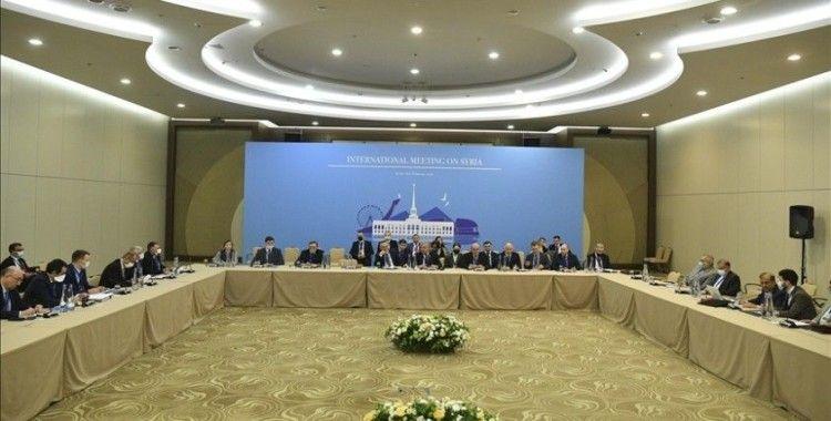 Suriye konulu 15. Garantörler Toplantısı devam ediyor