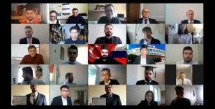 Rusya'da nükleer enerji eğitimlerini tamamlayan 43 Türk öğrenci diplomalarını aldı