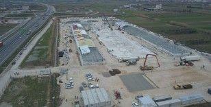 Büyükelçi Yörük'ten Türkiye tarafından Arnavutluk'ta inşa edilmekte olan hastaneye ziyaret