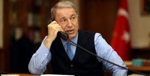 Bakan Akar, İngiltere Savunma Bakanı Wallace ile telefonda görüştü