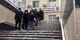 500 bin TL'lik vurgun yapan hırsızlar, polis ekiplerince yakalandı