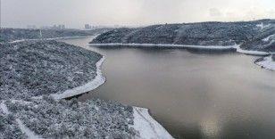 Kar yağışı İstanbul'da barajlara yaradı, doluluk oranı 48.28 oldu