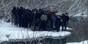 MSB: Yunanistan tarafından ölüme terk edilen düzensiz göçmenler kurtarıldı