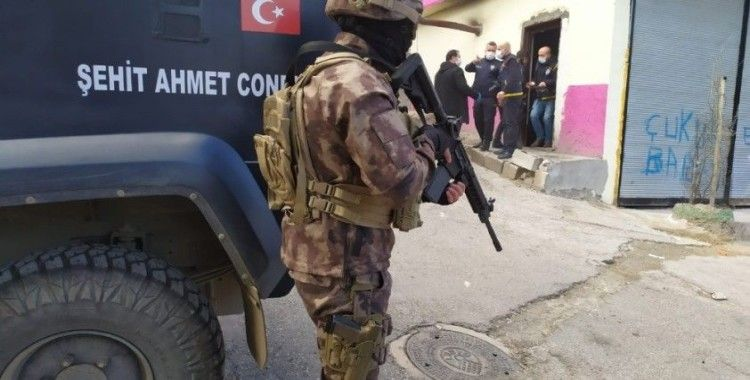 Gaziantep'te dev uyuşturucu operasyonu