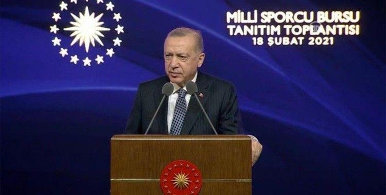Cumhurbaşkanı Erdoğan: Türkiye bizim dönemimizde spor altyapısında da çağ atlamıştır