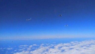 Rus savaş uçakları Fransız uçaklarını Karadeniz'de engelledi