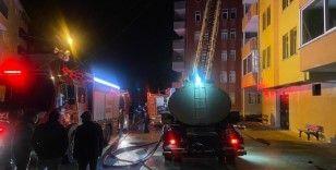 Trabzon'da yangın söndürüldü