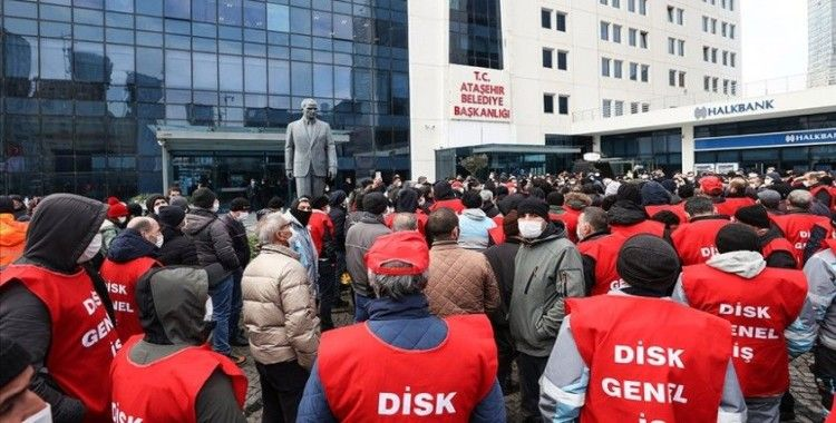 Ataşehir Belediyesine grev kararı asıldı