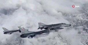 Hava Kuvvetleri uçaklarının NEXUS ACE eğitim uçuşları nefes kesti