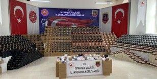 İstanbul İl Jandarma Komutanlığı'ndan dev sahte parfüm operasyonu