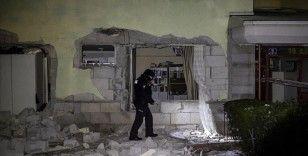 Başkentte apartmanda doğal gaz patlaması: 2 yaralı