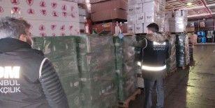 İstanbul'da kaçak ve sahte içki operasyonu: 8 bin 305 şişe içki ele geçirildi