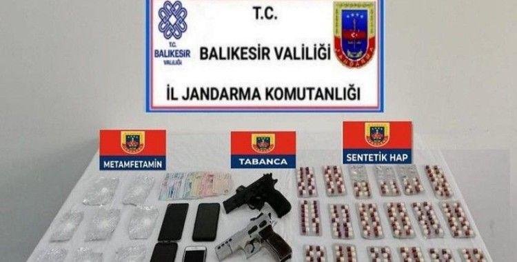 Avşa adasında uyuşturucu operasyonu
