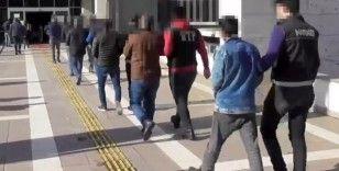 Osmaniye'de torbacılara şafak operasyonu: 12 gözaltı