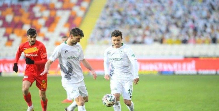 Yeni Malatyapor, sahasında Konyaspor'a 3-2 mağlup oldu