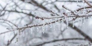 4 il için kuvvetli buzlanma ve don uyarısı