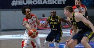 A Milli Erkek Basketbol Takımı İsveç'i yendi