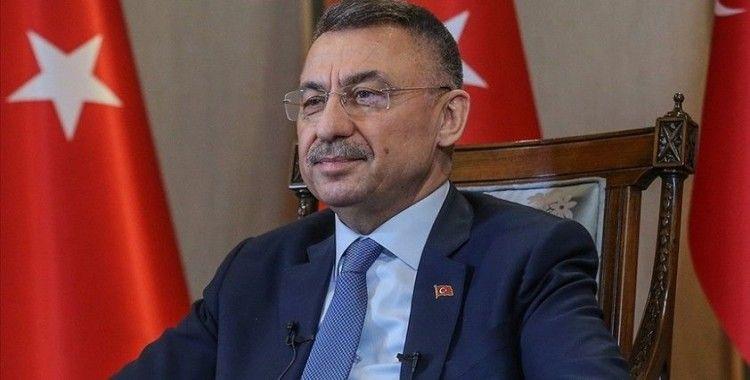 Cumhurbaşkanı Yardımcısı Oktay'dan A Milli Erkek Basketbol Takımı'na tebrik
