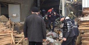 Mobilya fabrikasında patlama: 1 ölü 5 ağır yaralı