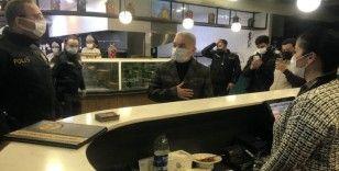 Başakşehir'de salgınla mücadele kapsamında denetim