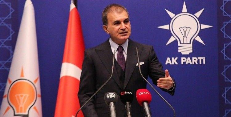 AK Parti Sözcüsü Çelik'ten geçmiş olsun telefonu
