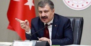 Türkiye'de son 24 saatte 6 bin 546 vaka, 77 can kaybı