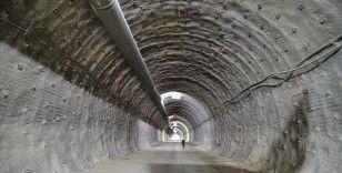 Çorum'da yapımı devam eden Kırkdilim Tünelleri'nde sona geliniyor