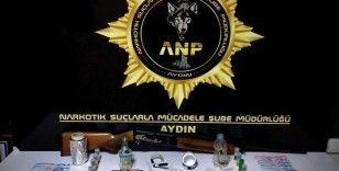 Aydın'da 6 şüpheli uyuşturucudan tutuklandı