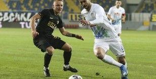 Süper Lig: MKE Ankaragücü: 1 Çaykur Rizespor: 1 (İlk Yarı)