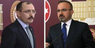 AK Parti Grup başkanvekilleri Muş ve Turan'dan, Özlem Zengin hakkındaki hakaret paylaşımına tepki