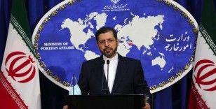 İran Dışişleri Bakanlığı Sözcüsü Hatibzade: Biden bir karar almalıdır