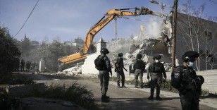 İsrail güçleri Mescid-i Aksa Koruma Müdürü'nün Kudüs'teki evini yıktı