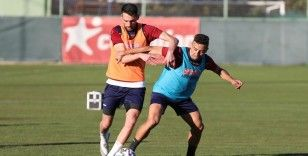 Alanyaspor, Fatih Karagümrük maçı hazırlıklarına başladı