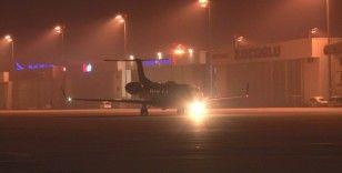 Tanzanya'da koronavirüs hastalığına yakalanan 3 Türk vatandaşı ambulans uçakla İstanbul'a getirildi