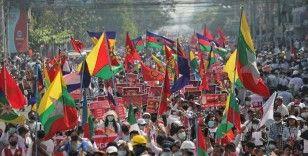 Myanmar'da darbe karşıtı protestolar ve genel grev devam ediyor